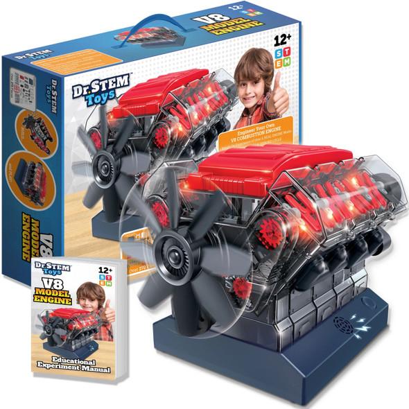 V8 Model Engine Kit