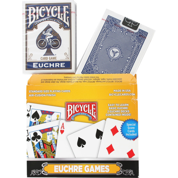 Bicycle Euchre Two Deck Set