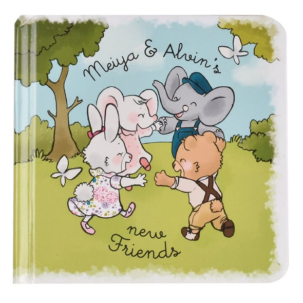 Meiya and Alvin - New Friends Book