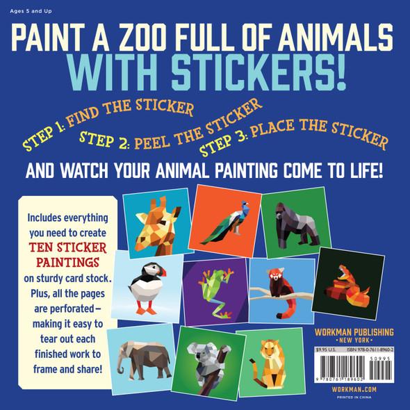 Paint by Sticker Kids- Zoo Animals