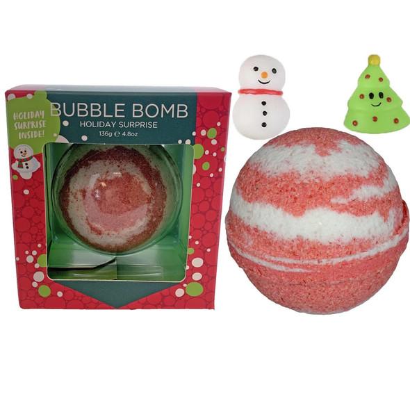 Christmas Squishy Surprise Bubble Bath Bomb
