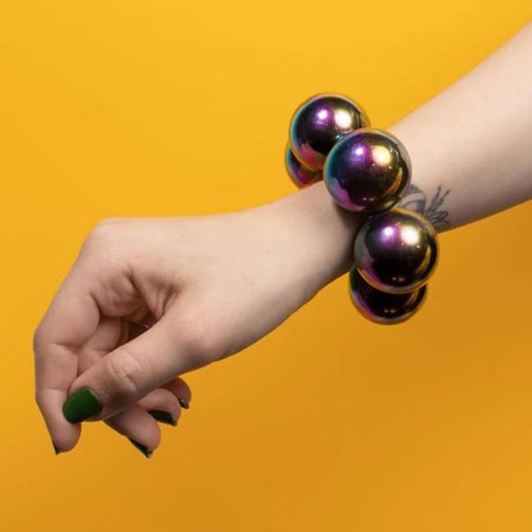 Speks Supers 33mm Magnet Balls - 6 Oil Slick