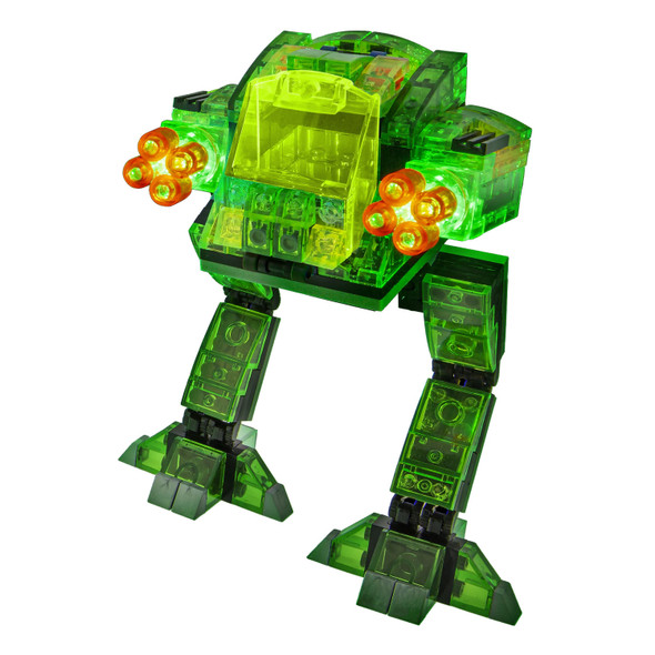 Laser Pegs 5-in-1 Mech Attack Set