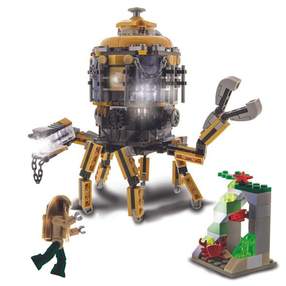 Laser Pegs Explorers Inc. Iron Octopod