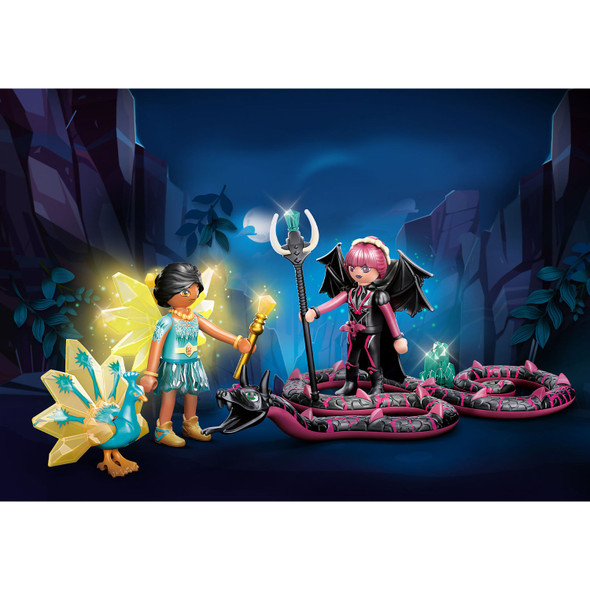 Ayuma Crystal Fairy And Bat Fairy