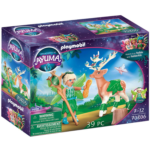 Ayuma Forest Fairy with Soul Animal