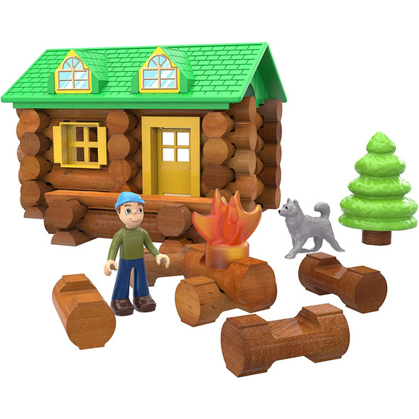 Lincoln Logs On the Trail Set