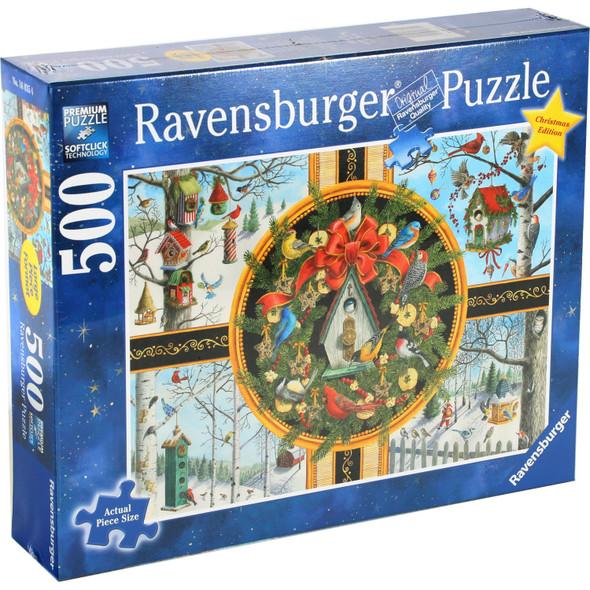 Christmas Songbirds 500pc Puzzle