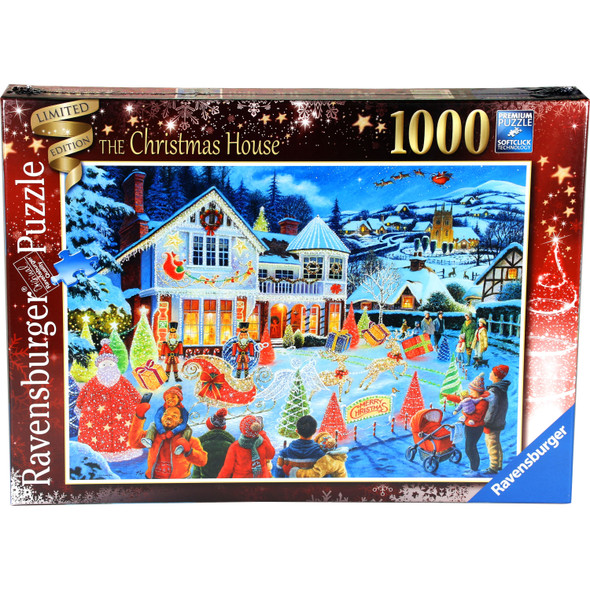 The Christmas House 1000pc Puzzle