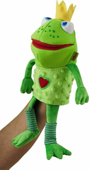 Frog King Glove Puppet