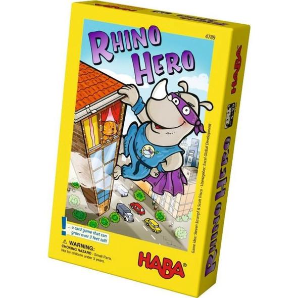 Rhino Hero Stacking Cards Game