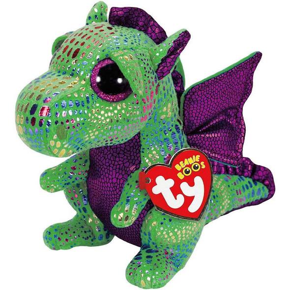 Cinder Green Dragon Beanie Boos Plush - Small