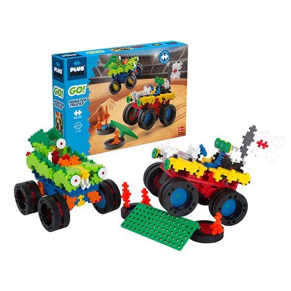 Plus-Plus Go! Monster Trucks