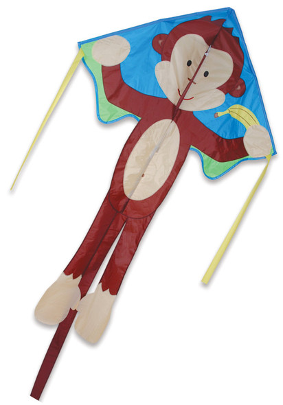 Mikey Monkey Large Easy Flyer Kite