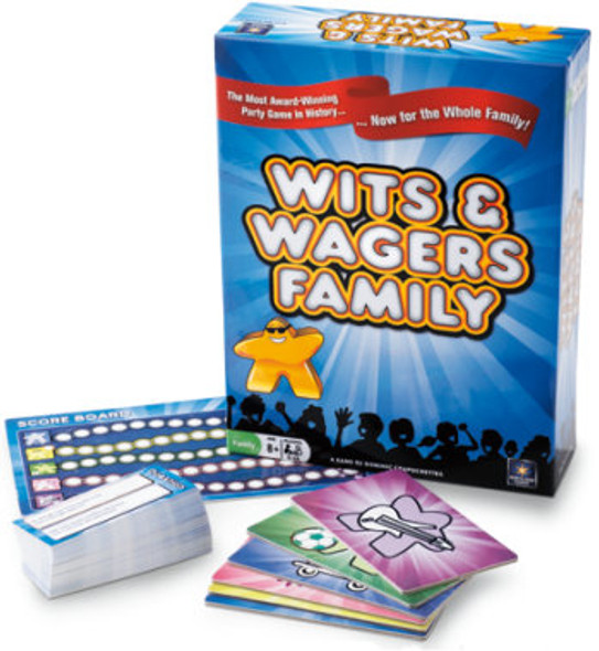 Wits and Wagers Family Game