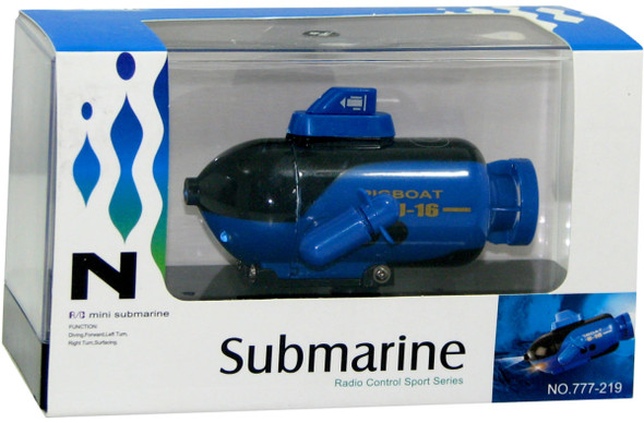 R/C Mini Submarine - Blue