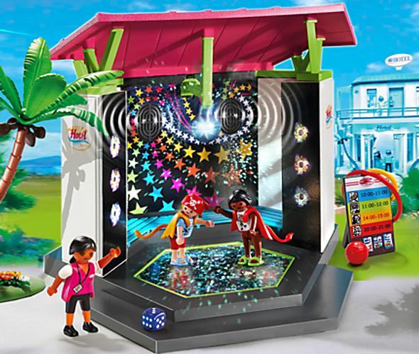 Playmobil Children's Club w/ Disco