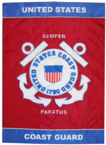 Coast Guard Mini Garden Banner