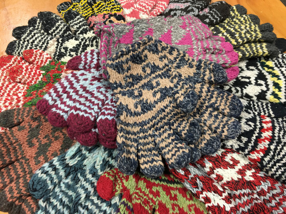 Wool Gloves pile