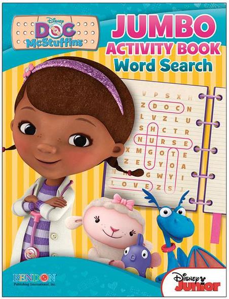 Doc McStuffins Words Searches