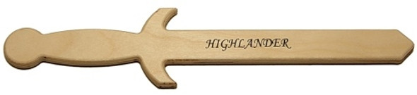 Highlander Wooden Sword / Dagger