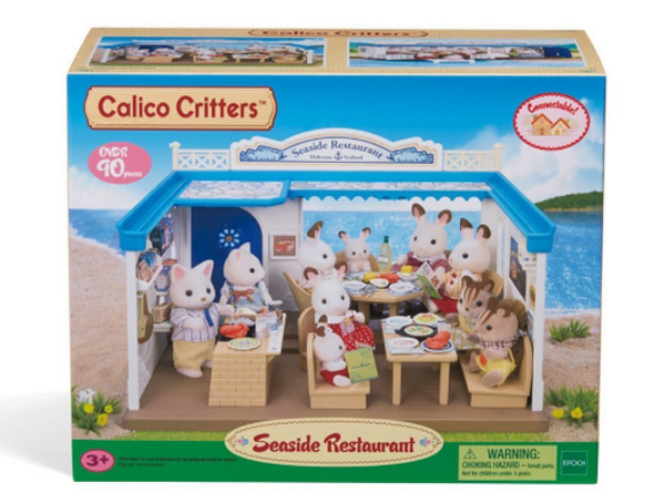 Calico Critters Seaside Restaurant - Box