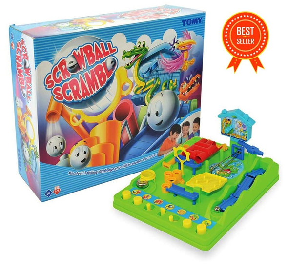Screwball Scramble Marble Track