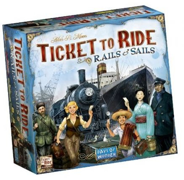 Ticket to Ride: Rails & Sails - Box