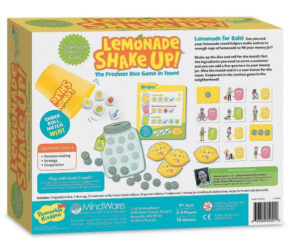 Lemonade Shakeup