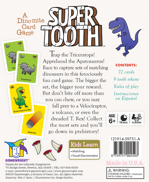 Super Tooth back
