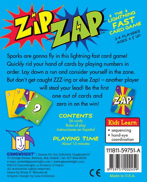 Zip Zap back