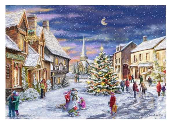 Christmas Wishes 1000pc Puzzle - Completed
