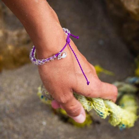 4Ocean Bracelet - Hawaiian Monk Seal Purple