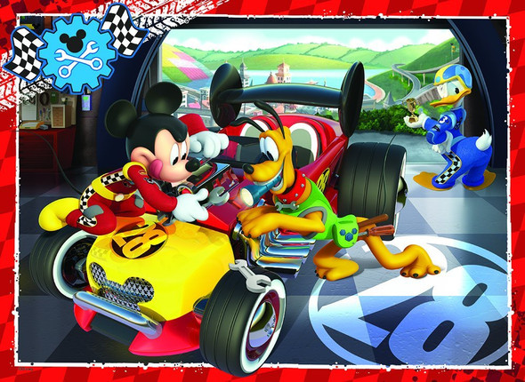 Mickey's Roadster puzzle by Ravensburger