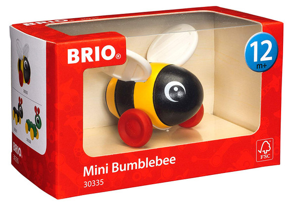 Brio Mini Bumblebee pull toy