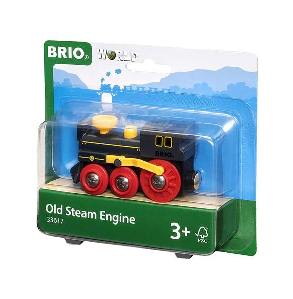 Old Steam Engine by Brio
