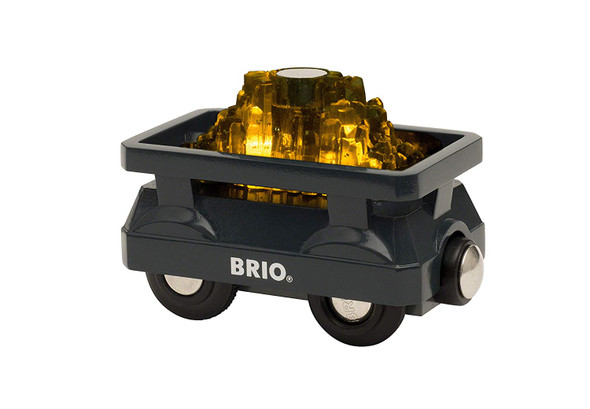 Light Up Gold Wagon train by Brio