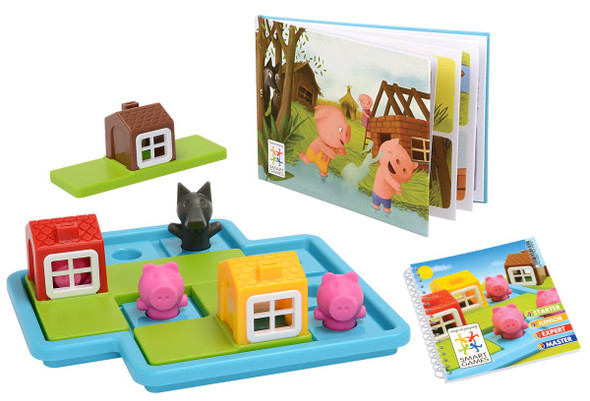 Three Little Piggies Deluxe Game