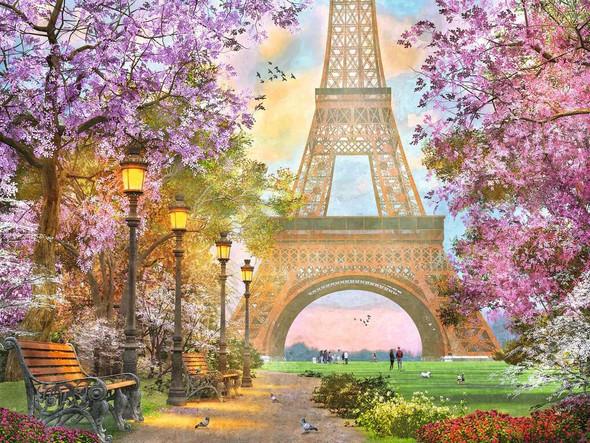 Paris Romance 1500 pc Puzzle