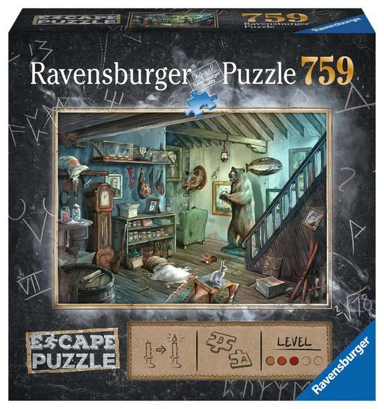 The Forbidden Basement Escape Puzzle