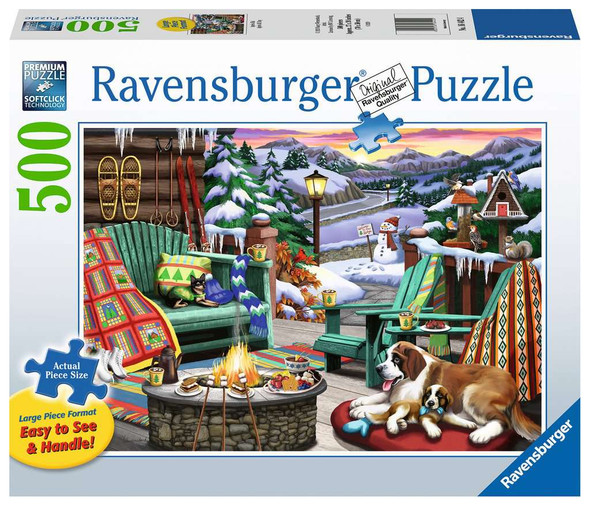 Apres all Day 500 pc Large Format Puzzle