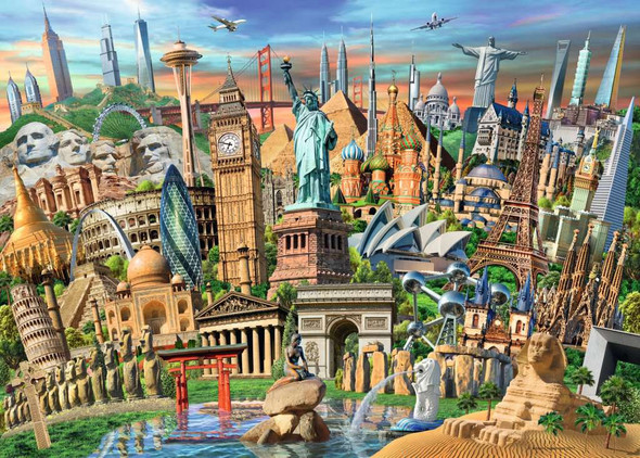 World Landmarks 1000 pc Puzzle