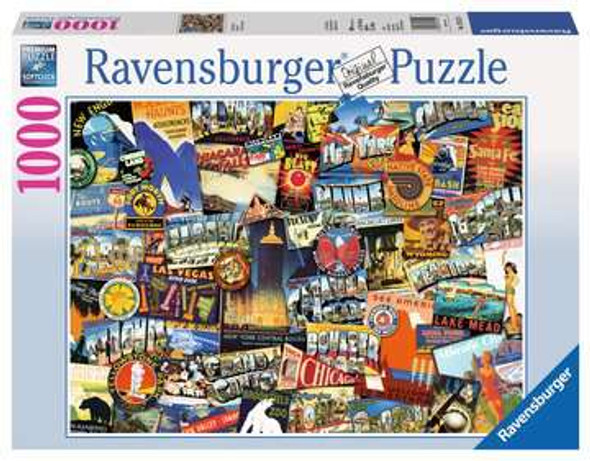 Road Trip USA 1000 pc Puzzle