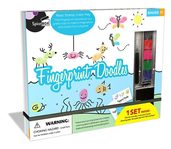 Fingerprint Doodles kit by SpiceBox