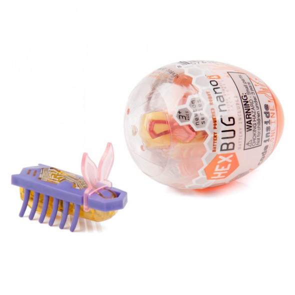 Hexbug Nano with Bunny Ears