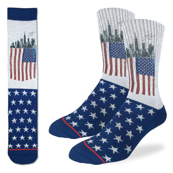 American Flag Socks by Good Luck Socks