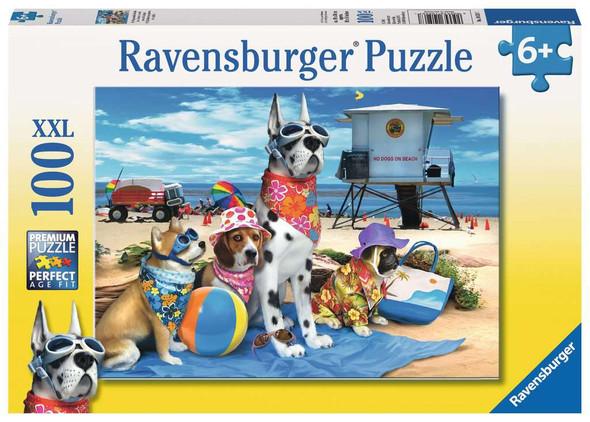No Dogs on Beach 100 pc XXL puzzle