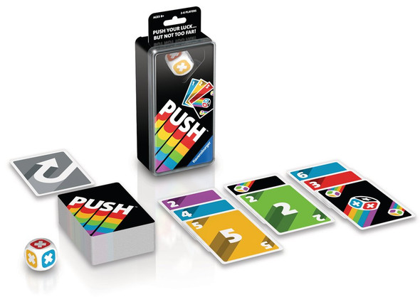 Push Card game by Ravensburger