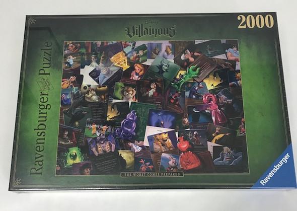 Disney Villains 2000 piece puzzle