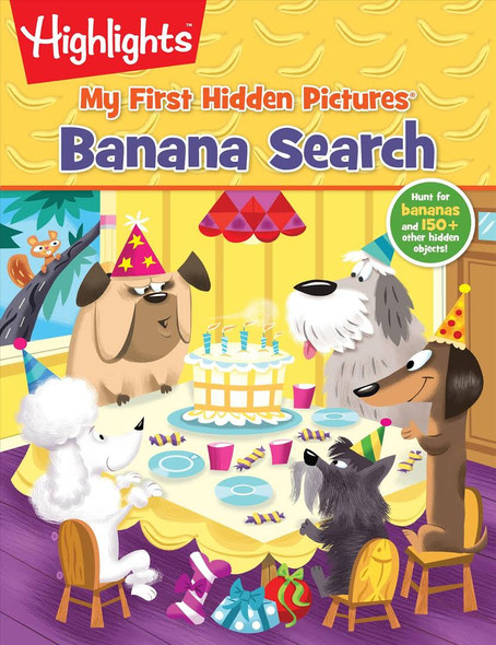 Banana Search First Hidden Picture by Highlights